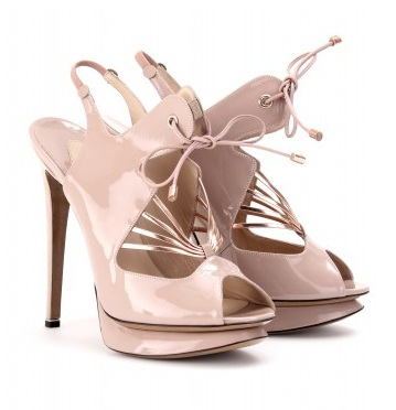Chic Shoegasms: Nicholas Kirkwood self-tie platforms