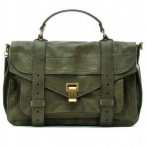 Handbag Hunter: Proenza Schouler PSI medium leather satchel