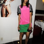 Zoe Saldana makes a statement in Prabal Gurung