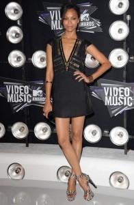 Zoe Saldana VMA