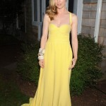 Melissa George is yellow fabulous