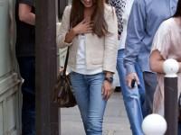 Mila Kunis shopping in Paris
