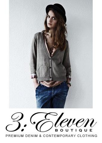 Win £250 worth of J Brand, Mih Jeans, Hudson and Siwy Hannah Denim from 3:Eleven Boutique!