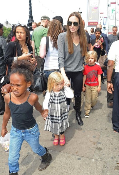 Angelina Jolie spends £1,300 in 15 minutes at French Connection