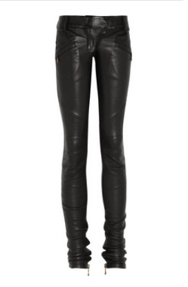 RTW Wanderer: Balmain leather Motorcross pants