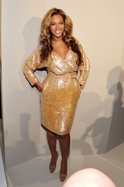 Beyonce is a sparkling success on the FROW