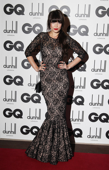 Daisy Lowe looks luscious in lace