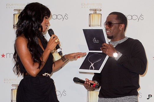 P Diddy launches women's fragrance, Kelly Rowland is the face