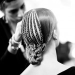 Get the LFW look: Sass & Bide's plaited weave bun