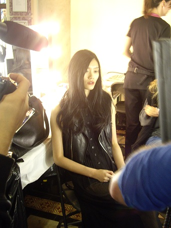 London Fashion Week SS12: backstage at Giles