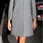 Gwyneth Paltrow hits the town in Houndstooth