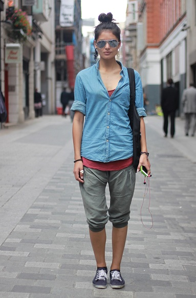 Streetstyle: On the go