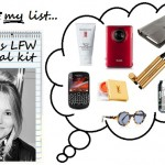 Editor's survival kit: London Fashion Week