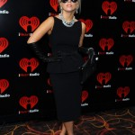 Lady Gaga goes all Audrey Hepburn at iHeartRadio