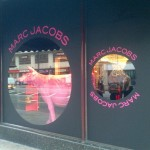 Marc Jacobs pops up in Harrods' window