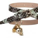 Accessory Adventures: Alexander McQueen snakeskin double cuff