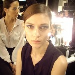 London Fashion Week SS12: backstage at Todd Lynn
