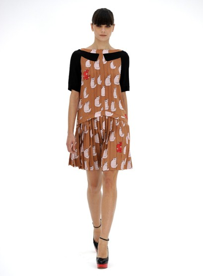 First look at Victoria Beckham's diffusion line: Victoria by Victoria Beckham SS12