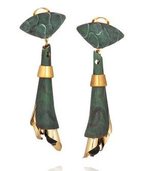 Accessory Adventures: Marni crystal drop clip-on earrings