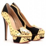 Chic Shoegasms: Charlotte Olympia Ninivah leopard pumps