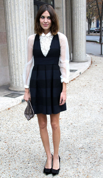 Get the look: Alexa Chung in Miu Miu