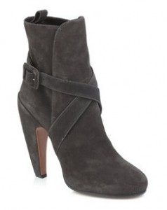 Azzedine Alaia suede ankle boots