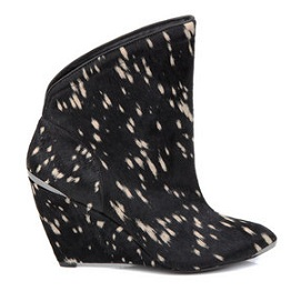 Belle by Sigerson Morrison spotted ankle boots