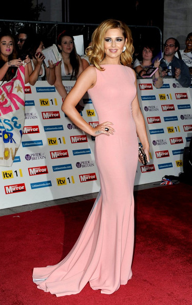 Cheryl Cole's pretty in pink at Pride of Britain