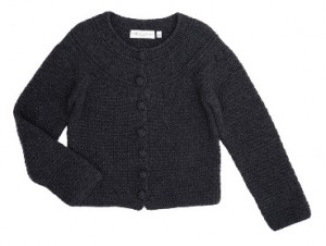 Edina Ronay cashmere button cardigan