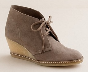 J Crew MacAlister wedge boots