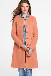 J Crew flared perfect coat