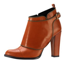 Jaeger ankle boot spat detail