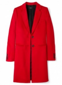 Joseph red man coat