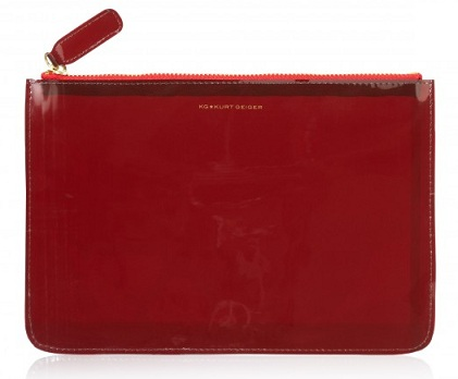 Lunchtime buy: KG Kurt Geiger Perspex Large Pouch