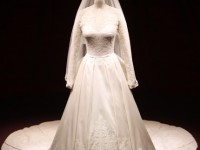 Kate Middleton Alexander McQueen wedding dress exhibition Buckingham Palace