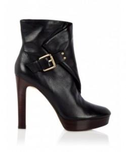Kor Michael Kors buckle platform ankle boots