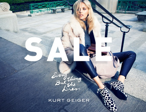 Get up to 40% off in Kurt Geiger's mid-season sale!