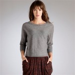 La Redoute Grey Cashmere Sweater