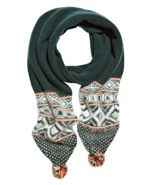Lunchtime buy: Rag & Bone Grayling Fair Isle wool blend scarf