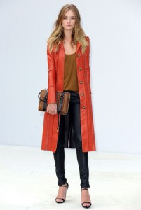 Rosie Huntington-Whiteley Burberry SS12