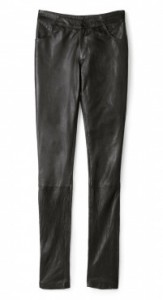Sara Berman leather trousers