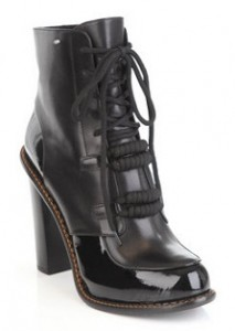 Sportmax leather ankle boots
