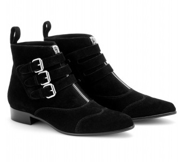 Lunchtime buy: Tabitha Simmons Early waxy suede ankle boots