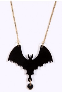Tatty Divine Bat Necklace