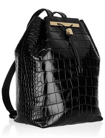 What credit crunch? Olsen's $39,000 backpack is first in collection to sell!