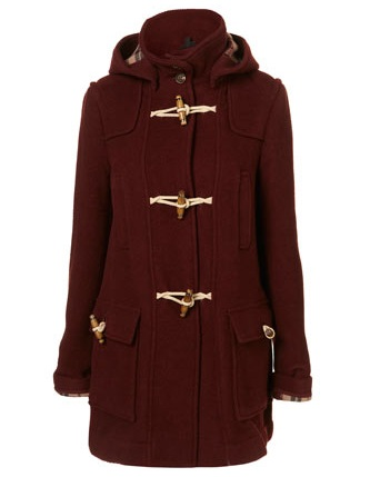 Lunchtime buy: Topshop bound seam duffle coat