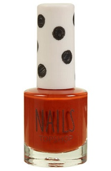 Lunchtime buy: Topshop nails in Smashing Pumpkin