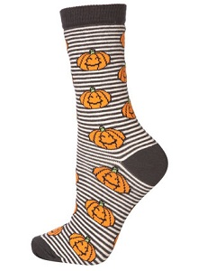 Topshop pumpkin socks