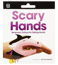 Topshop scary hand stickers