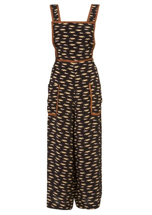 Lunchtime buy: Car print jumpsuit by Unique